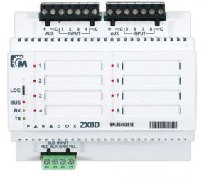 ZX8D Expander 8 zón pro EVO