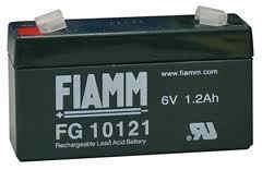 Fiamm FG10121 (6V/1,2Ah - Faston 187)