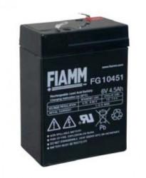 Fiamm FG10451 (6V/4,5Ah - Faston 187)