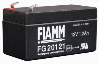 Fiamm FG20121A (12V/1,2Ah - Faston 187 - 42mm)