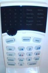Runner CR16 LED Keypad  Blue
