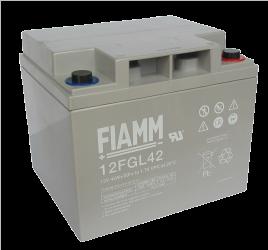 Fiamm 12 FGL42 (12V/42Ah/10let) SLA baterie